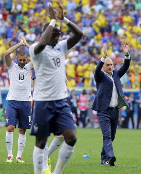 サッカーW杯フランス代表 写真特集
