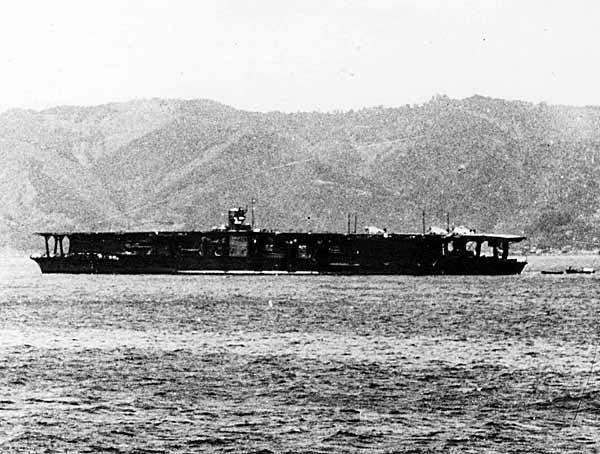 日本海軍の航空母艦 写真特集