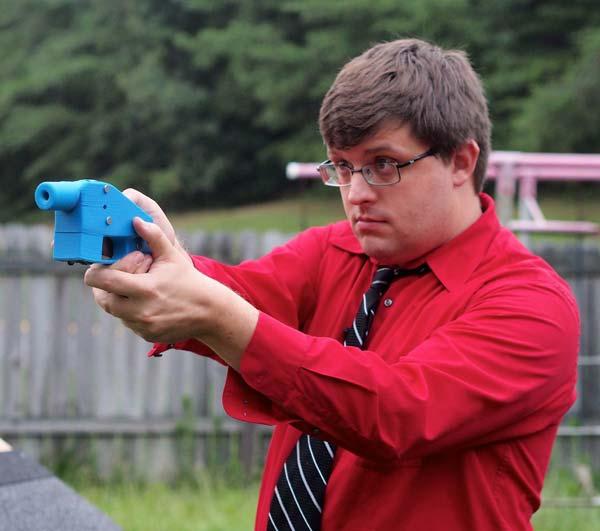 3Dプリンター銃 写真特集