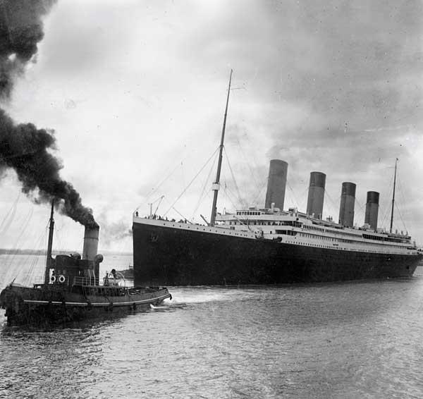 タイタニック号の悲劇 写真特集
