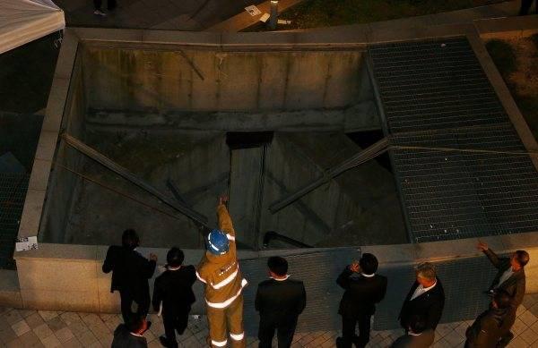 崩壊 事故 韓国
