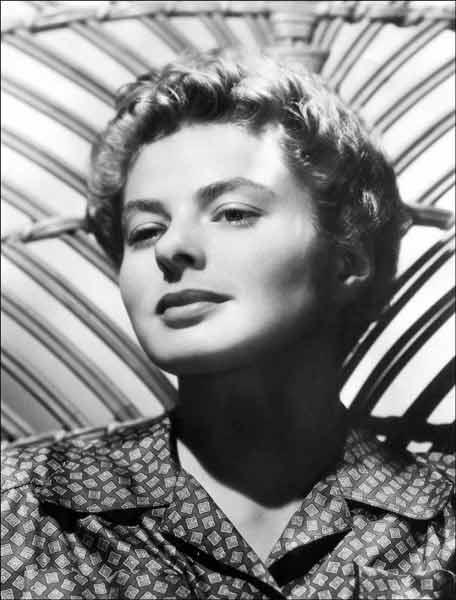 イングリッド・バーグマン(1) 1915年生まれ。…:麗しの大女優 ...