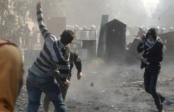エジプト反体制デモ 写真特集