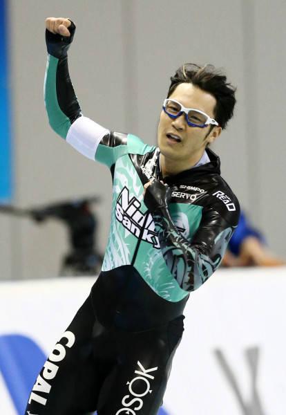 スピードスケート 加藤条治 写真特集