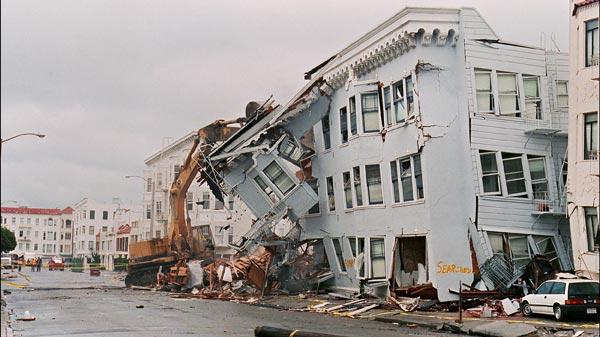 サンフランシスコで大地震(平成...