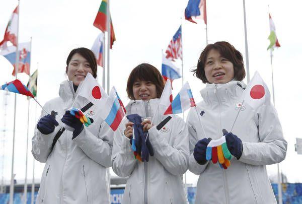 ソチ五輪の選手村入村式を終え…...