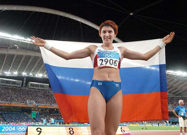 タチアナ・レベデワ=走り幅跳…:五輪陸上競技 ロシアの金メダリスト ...