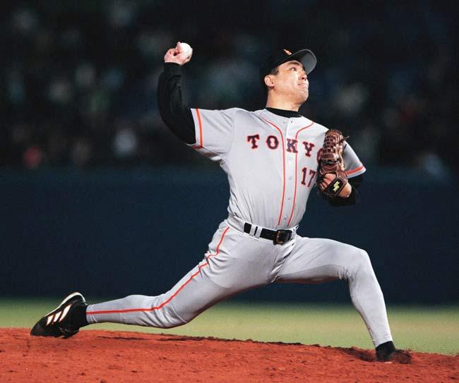 力投する巨人の槙原寛己投手=1999年5月18日…:歴代快速球投手 写真 ...