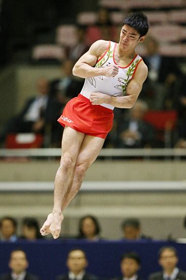 男子体操 白井健三 写真特集:時事ドットコム