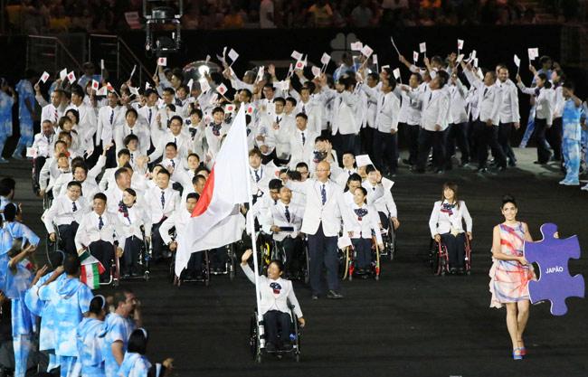 「パラリンピック リオ 開会式」の画像検索結果