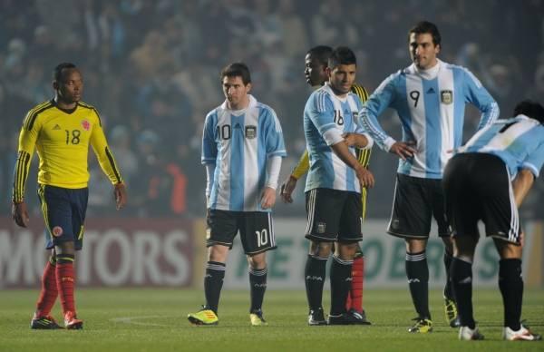 2試合連続で引き分け、アルゼン...