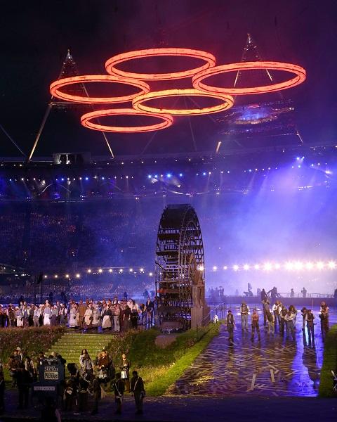ロンドン五輪開会式 写真特集