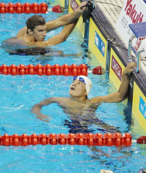 2011年世界水泳選手権の競泳男子...