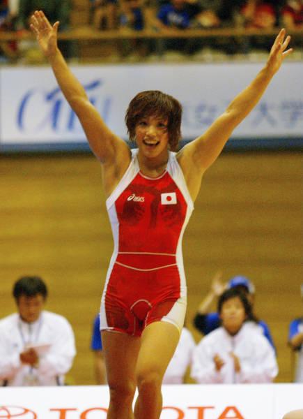女子レスリングW杯・米国との予選59キロ級でサリー・ロバーツ