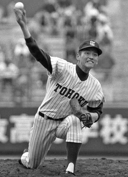 佐々木主浩(東北)1985年 第5…:選抜高校野球「思い出甲子園」 写真 ...