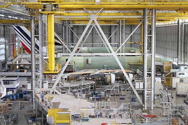 エアバス・トゥールーズ「A380」組立工場 写真特集