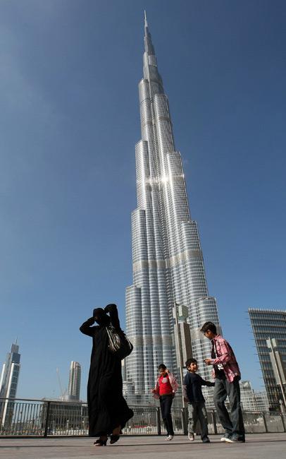アラブ首長国連邦(UAE)のドバイにある「ブルジュ・ハリファ」