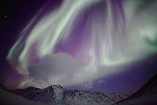アラスカのオーロラ 写真特集