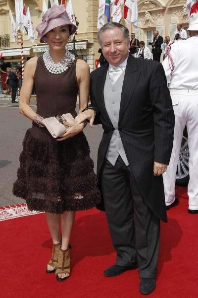 シンガポール出身の女優ミ…:モナコ公挙式 華麗な招待客ファッション ...