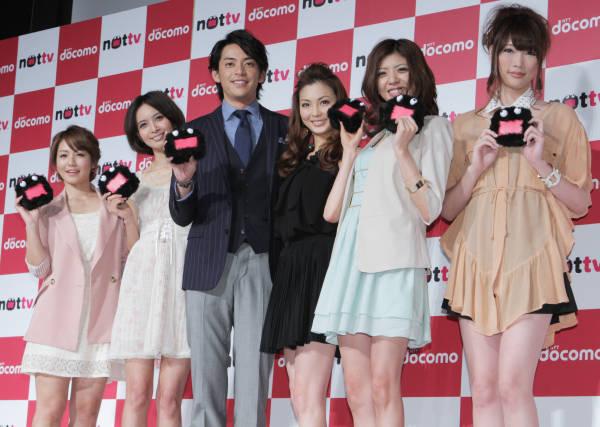 日本初!スマホ向け放送局「NOTTV」 写真特集