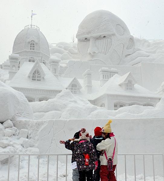 さっぽろ雪まつり 2012〜 写真特集