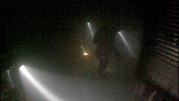 苫小牧沖でカーフェリー火災 写真特集