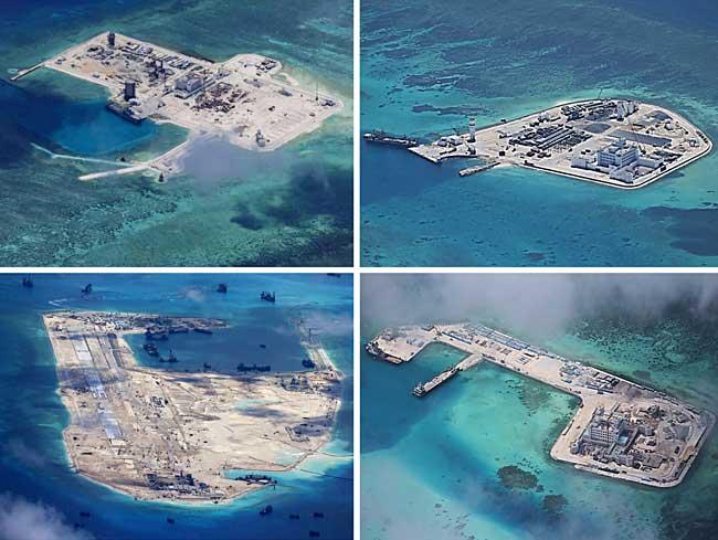 「南シナ海 埋め立て」の画像検索結果