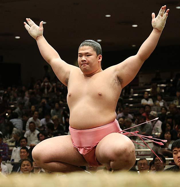 お相撲さん宇良