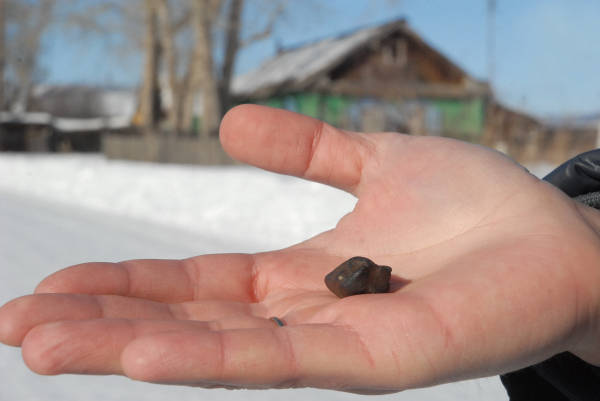 隕石の落下 写真特集