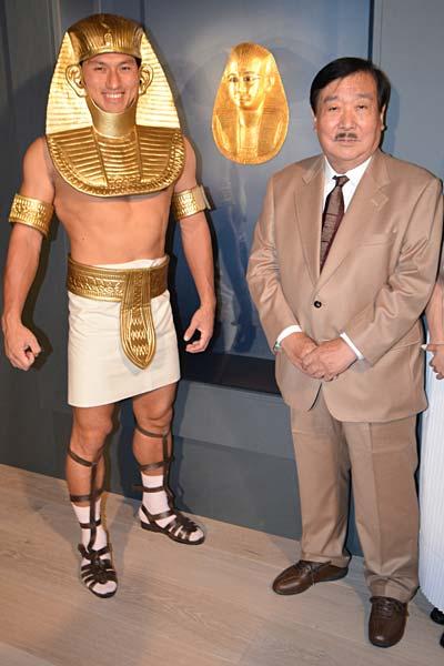 黄金のファラオと大ピラミッド展...
