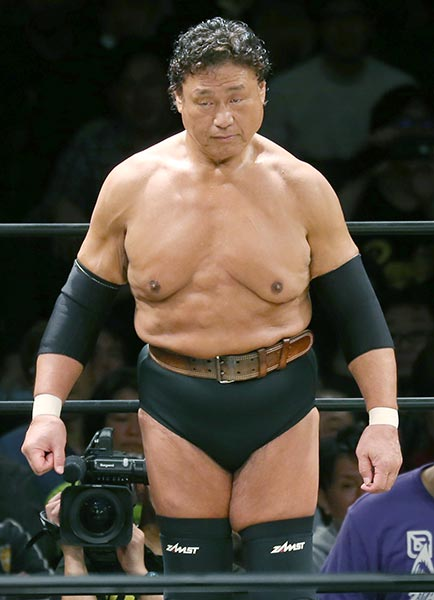 プロレスラー・天龍源一郎(65…:プロレスラー天龍源一郎 引退試合 ...