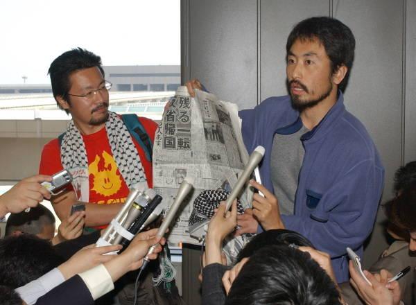新聞労連「安田さんの帰国を喜び合える社会にしろ!」と声明発表 ->画像>51枚