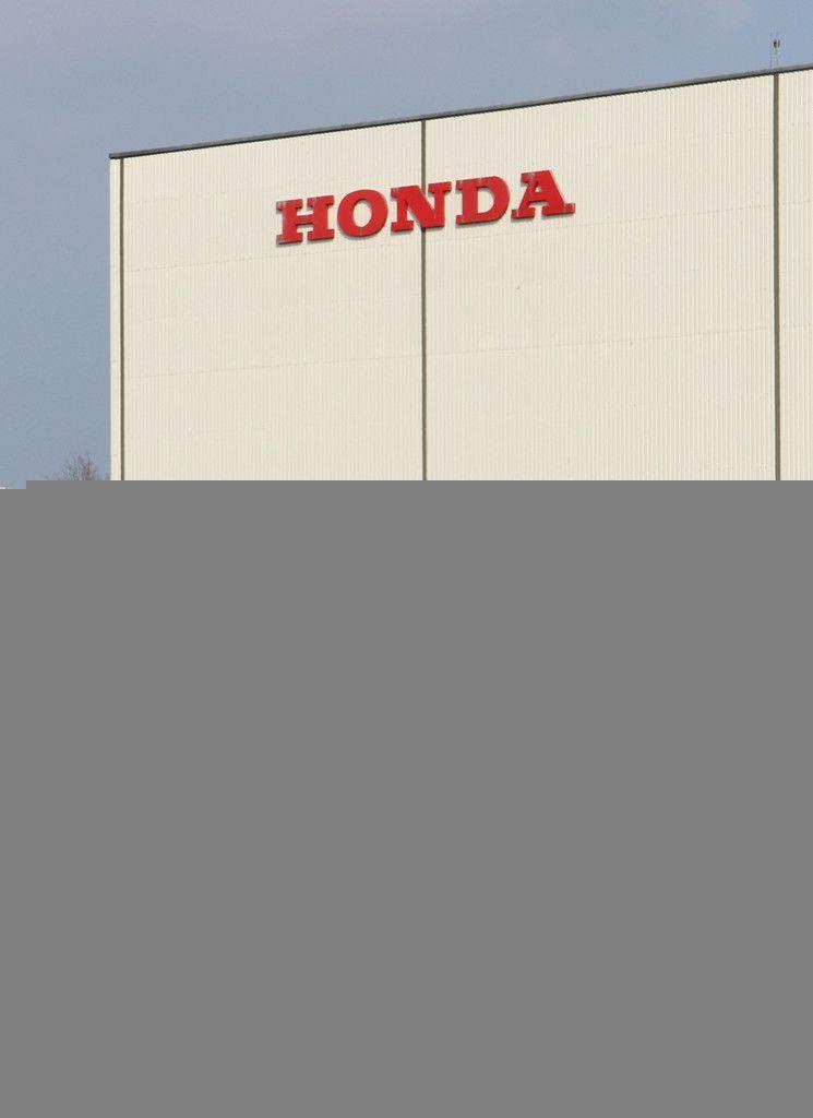 ホンダのスウィンドン工場=2019年3月30日、英南部スウィンドン