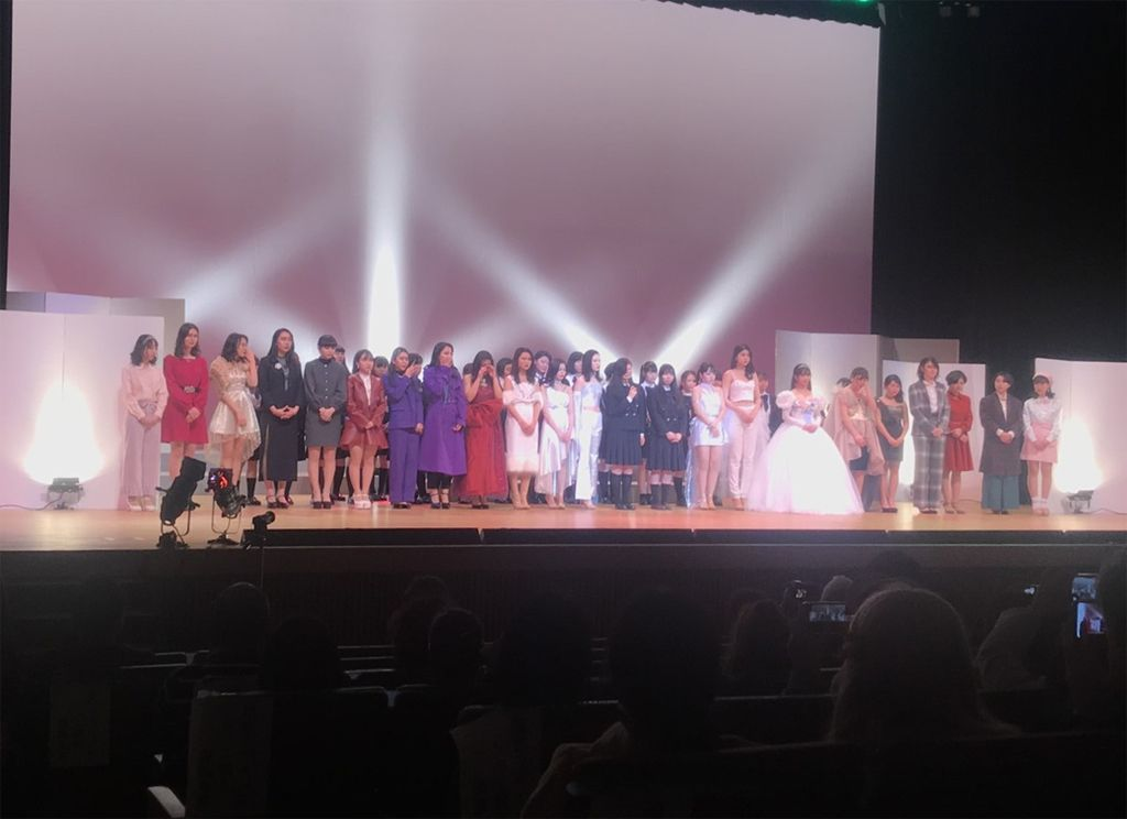 ファッションショーを開催 埼玉県立新座総合技術高校