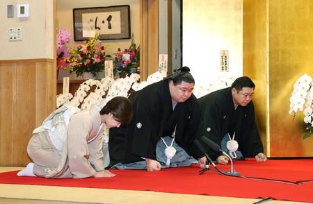 大関正代が誕生 相撲道に「至誠一貫」:時事ドットコム