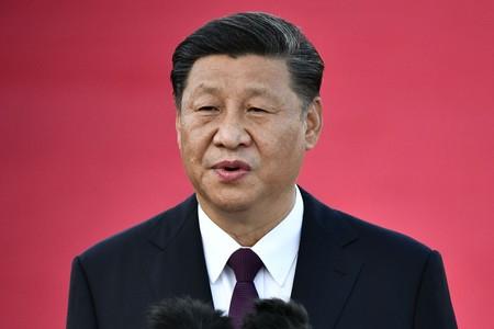 中国共産党の習近平総書記(国家主席)=2019年12月、マカオ(AFP時事)